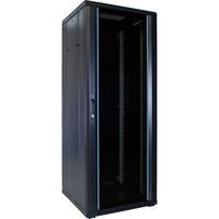 DSI 32U serverkast met glazen deur - DS6632 server rack Zwart, 600 x 600 x 1600mm
