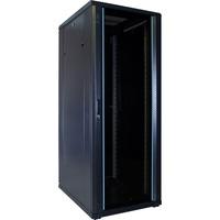DSI 32U serverkast met glazen deur - DS6832 server rack Zwart, 600 x 800 x 1600mm