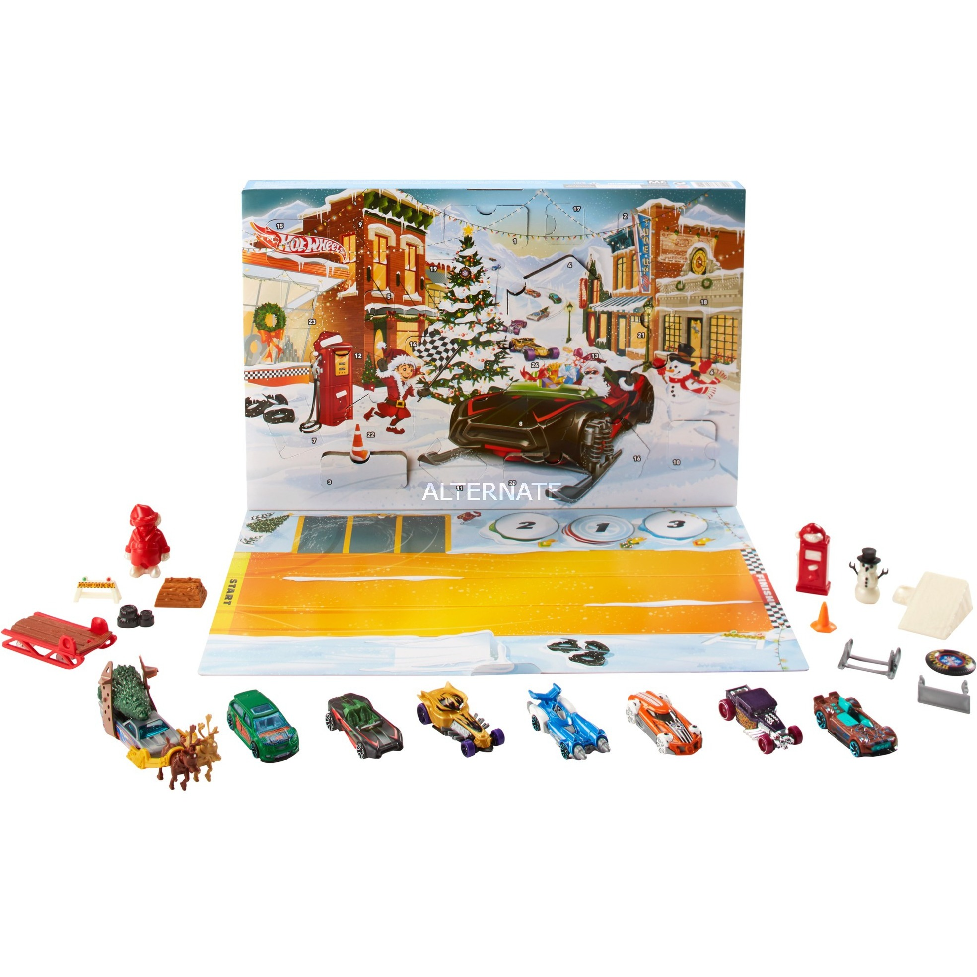 Weihnachtskalender Hot Wheels.Hw Adventskalender 2019