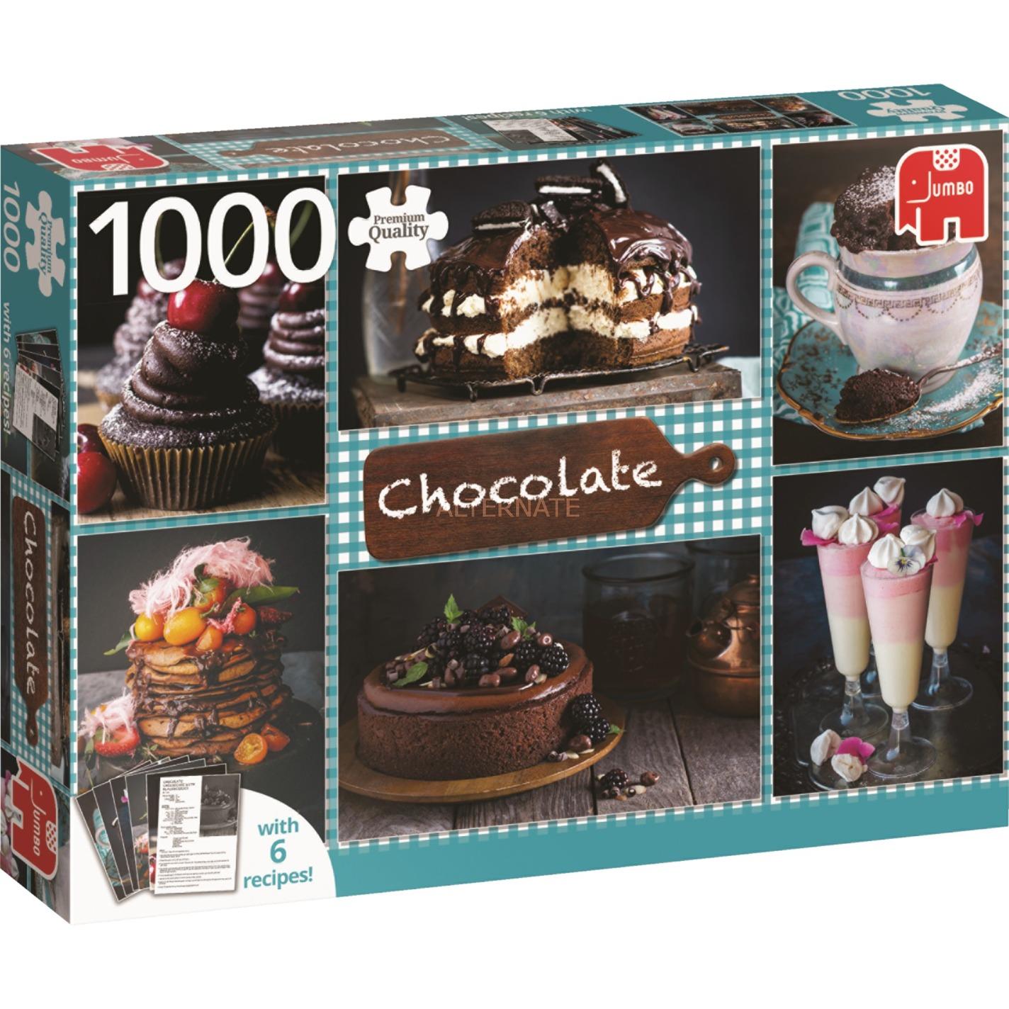 Jumbo Chocolade puzzel 1000 stukjes