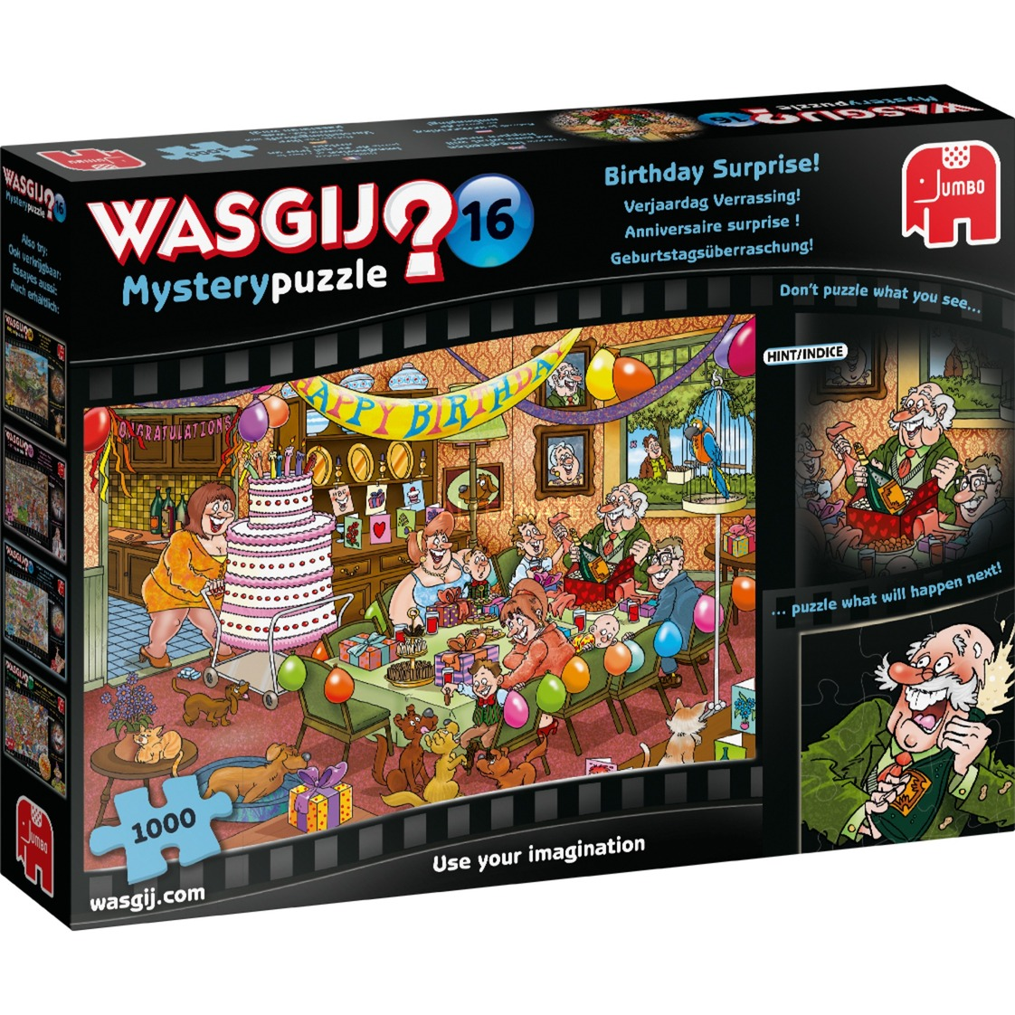 Jumbo Wasgij Mystery 16 Verjaardag Verrassing Puzzel 1000 Stukjes