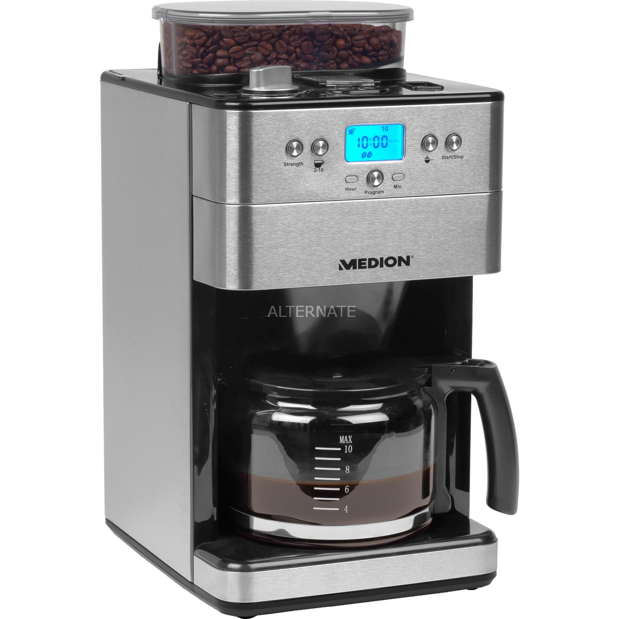 Beste Medion Koffiezetapparaat voor bonen MD 16893 koffieapparaat BC-72