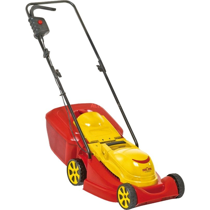 WOLF-Garten Elektromaaier S 3200E grasmaaier Rood/geel
