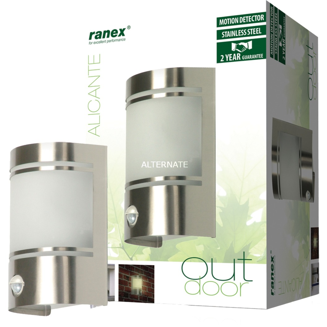 ranex wandlamp met bewegingsdetector verlichting ra 5000299
